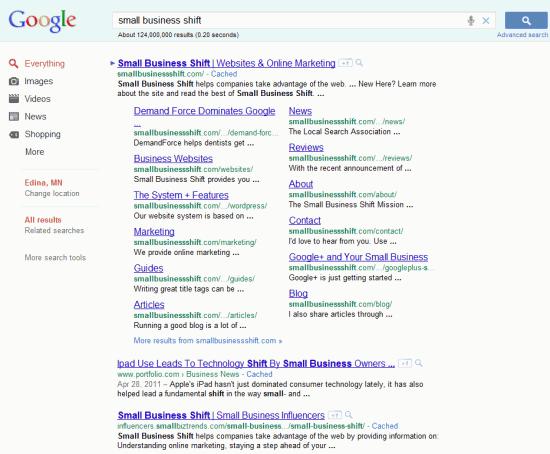12-Pack Sitelinks in Google