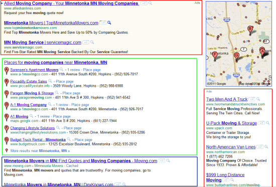 Local Search Results Now