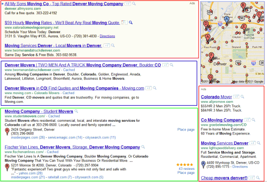 Local Search Results Today