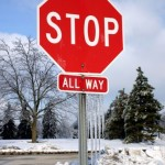 Maybe A Blog Is Bad - Stop Sign